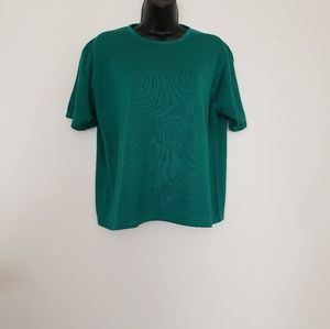 Charter club green shirt
